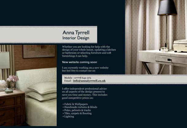 Anna Tyrrell Interiors Boo Design